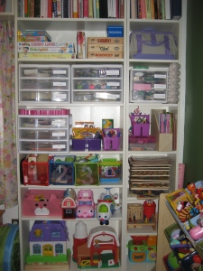 IKEA Billy Bookcase organization